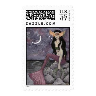 Dark Beach First Class Stamps