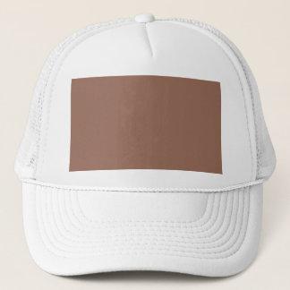 Dark Beige Color Only Custom Design Trucker Hat