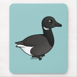 Dark-bellied Brant Goose Mouse Pad