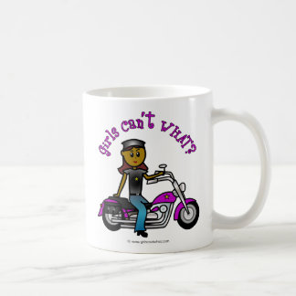 Dark Biker Girl Coffee Mug