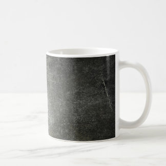 dark black grunde classic white coffee mug