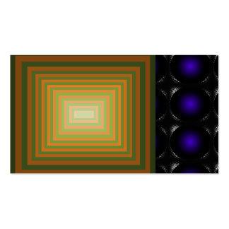 Dark Blue 3D Illusion Unusual Business Card 7