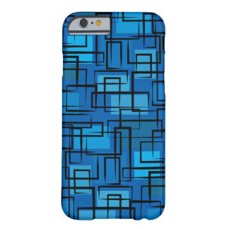 Dark blue 70 ' s barely there iPhone 6 case
