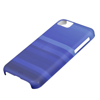 Dark Blue Abstract Art iPhone 5C Cover
