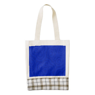 Dark Blue Abstract Pattern Zazzle HEART Tote Bag