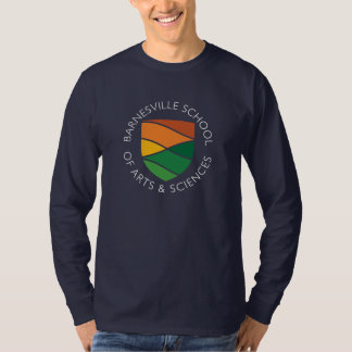 Dark Blue Adult Long Sleeved T-Shirt