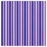 [ Thumbnail: Dark Blue and Plum Colored Pattern Fabric ]