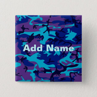 Dark Blue and Purple Camouflage Add Name Button