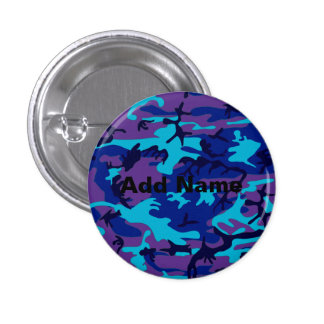 Dark Blue and Purple Camouflage Rd Add Name Button
