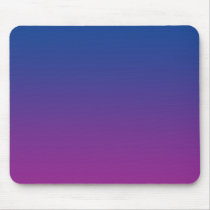"""Dark Blue And Purple Ombre"" Mouse Pad"