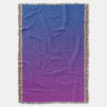 Toddler & Baby themed Dark Blue And Purple Throw