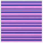 [ Thumbnail: Dark Blue and Violet Pattern Fabric ]