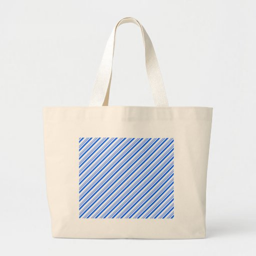 Dark Blue and White Tote Bags