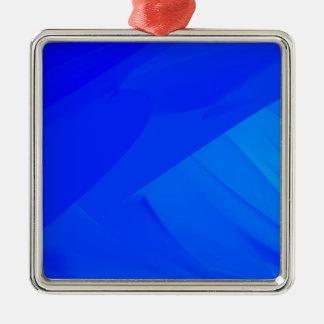 Dark Blue Backdrop Metal Ornament