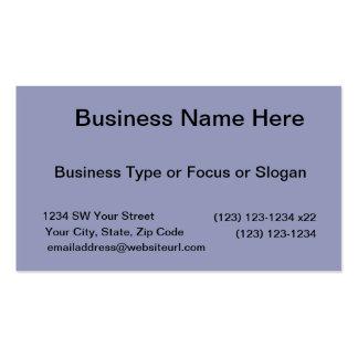 Dark Blue Background Business Card