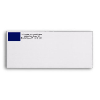 Dark Blue Background Envelope