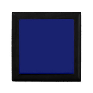Dark Blue Background Keepsake Box