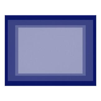 Dark Blue Background Letterhead