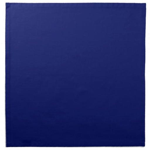 Dark Blue Background Napkins