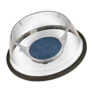 Dark Blue Brushed Background Pet Bowl