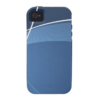 Dark Blue Vibe iPhone 4 Cover