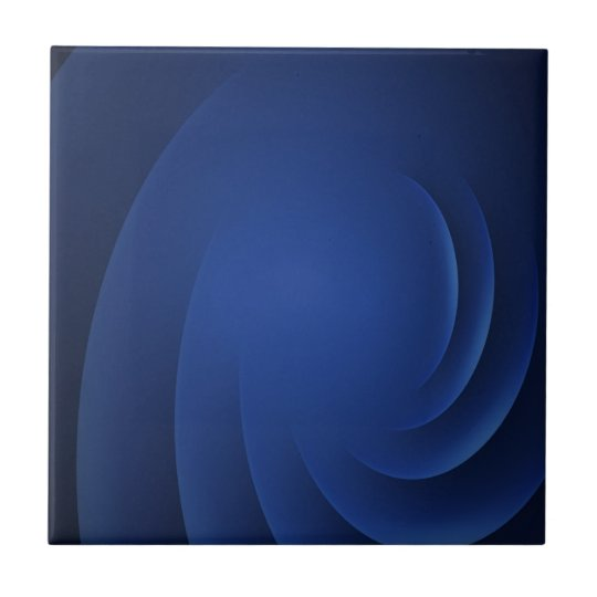 Dark Blue Ceramic Tile