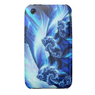 Dark Blue Crystal iPhone Case iPhone 3 Case