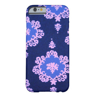 dark blue damask barely there iPhone 6 case