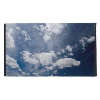 Dark blue deep sky iPad case