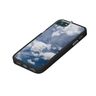 Dark blue deep sky iPhone 5 cases