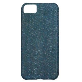 Dark Blue Denim Case For iPhone 5C