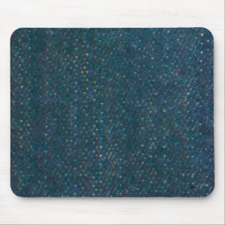 Dark Blue Denim Mouse Pad