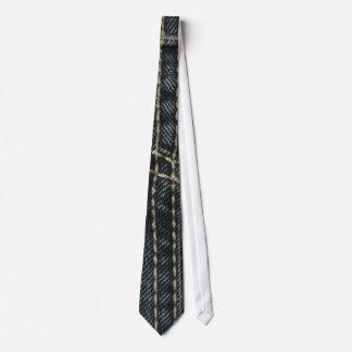 Dark Blue Denim Neck Tie