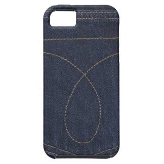 Dark Blue Denim Pocket iPhone SE/5/5s Case