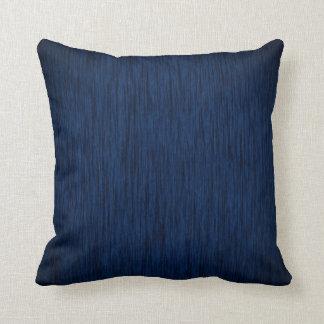 Dark Blue Design Background Throw Pillow