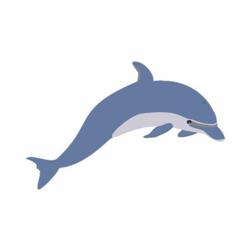 Dark Blue Dolphin Photo Cut Out Zazzle