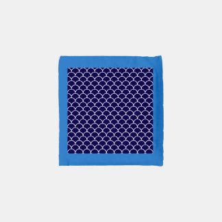 Dark Blue Dragon Scales Reusable Bag
