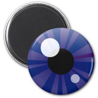 Dark Blue Eye Magnets