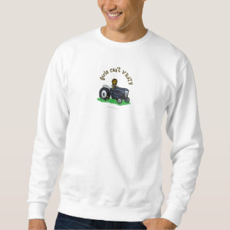 Dark Blue Farmer Girl Sweatshirt