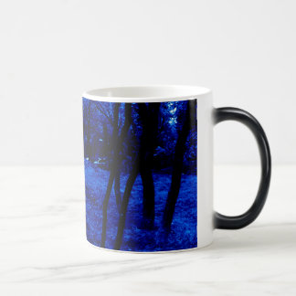 Dark Blue Forest Mug