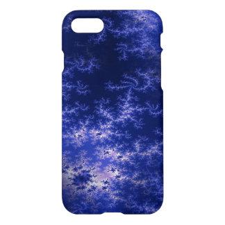 Dark Blue Fractal iPhone 8/7 Case