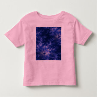 Dark Blue Fractal Toddler T-shirt