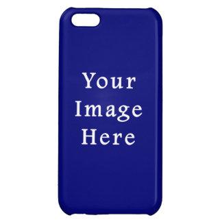 Dark Blue Hanukkah Chanukah Hanukah Template Case For iPhone 5C