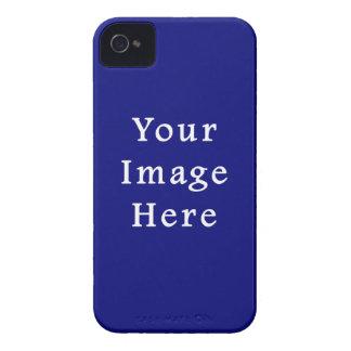 Dark Blue Hanukkah Chanukah Hanukah Template iPhone 4 Case