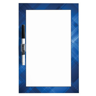 Dark blue hi-tech background Dry-Erase board