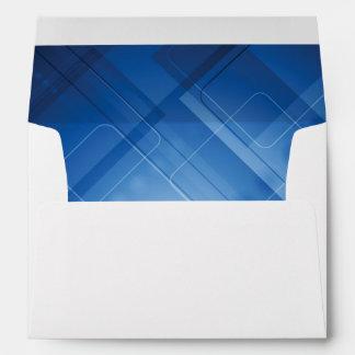 Dark blue hi-tech background envelope