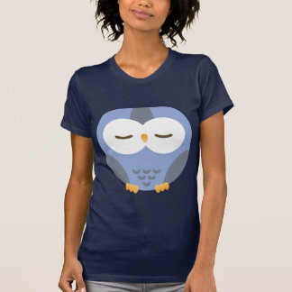 dark blue hibou for kids T-Shirt