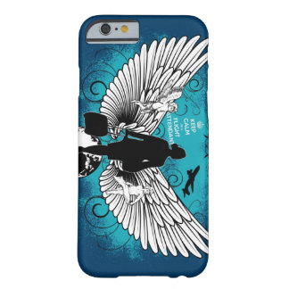 Dark blue kciafa barely there iPhone 6 case
