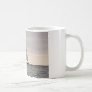 Dark Blue Ketch Coffee Mug