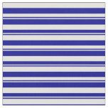 [ Thumbnail: Dark Blue & Light Cyan Colored Lines Fabric ]